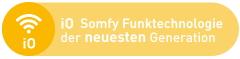 iO Somfy Funktechnologie der neuesten Generation